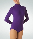 Long Sleeve Turtleneck Leotard