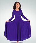 Praise Dance Loose Fit Long Sleeve Dress